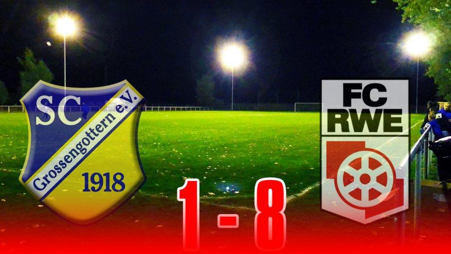 Pokal SC 1918 Großengottern - FC Rot-Weiß Erfurt