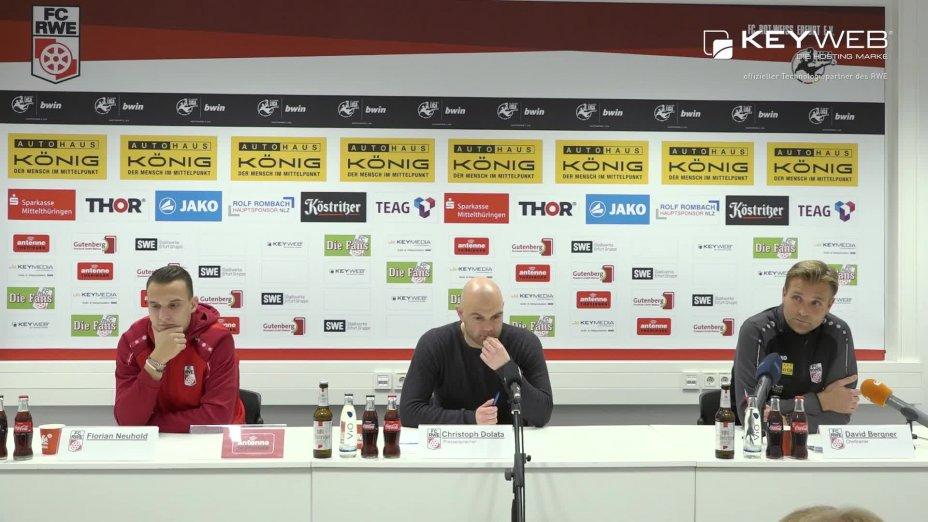 FC Rot-Weiß Erfurt vs. VfL Sportfreunde Lotte