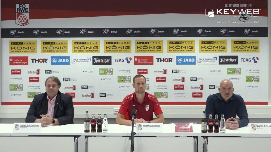 FC Rot-Weiß Erfurt vs. Würzburger Kickers e. V.