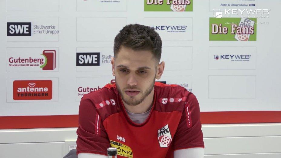 FC Rot-Weiß Erfurt vs. FSV Zwickau