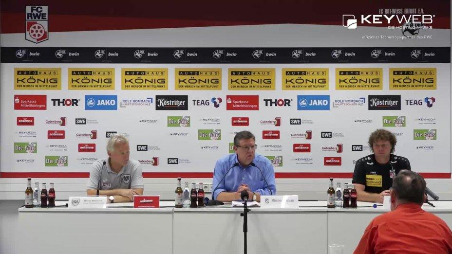 FC Rot-Weiß Erfurt vs. SC Preußen Münster