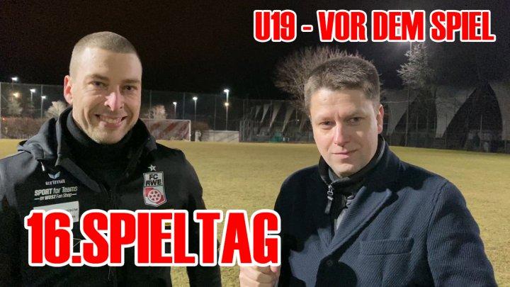 U19 - 16.Spieltag - Robin Krüger vor dem Spiel