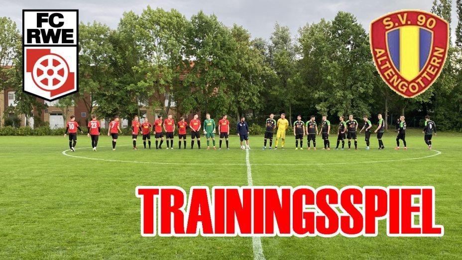 Trainingsspiel - SV 90 Altengottern