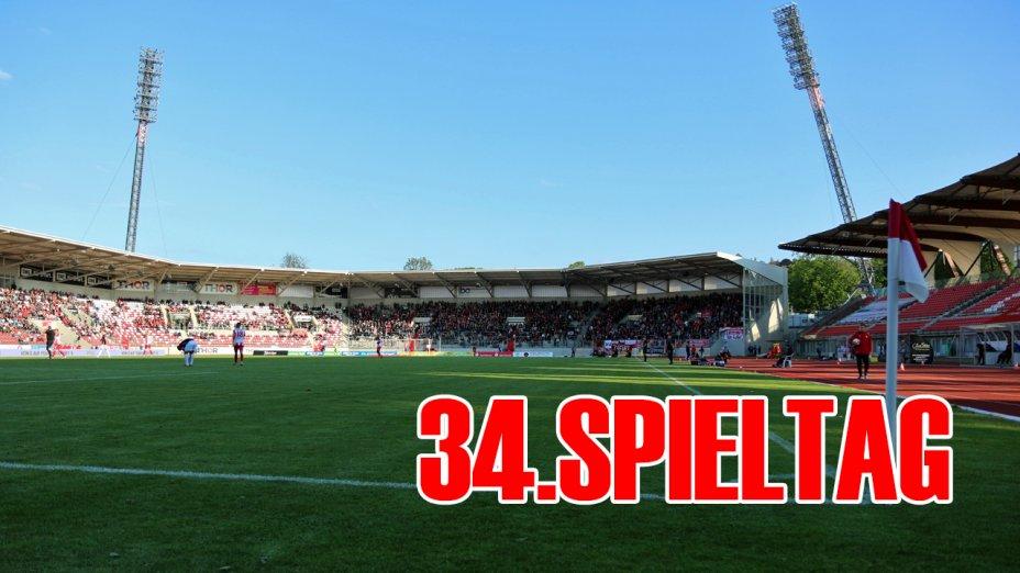 34. Spieltag - BFC Dynamo (H)