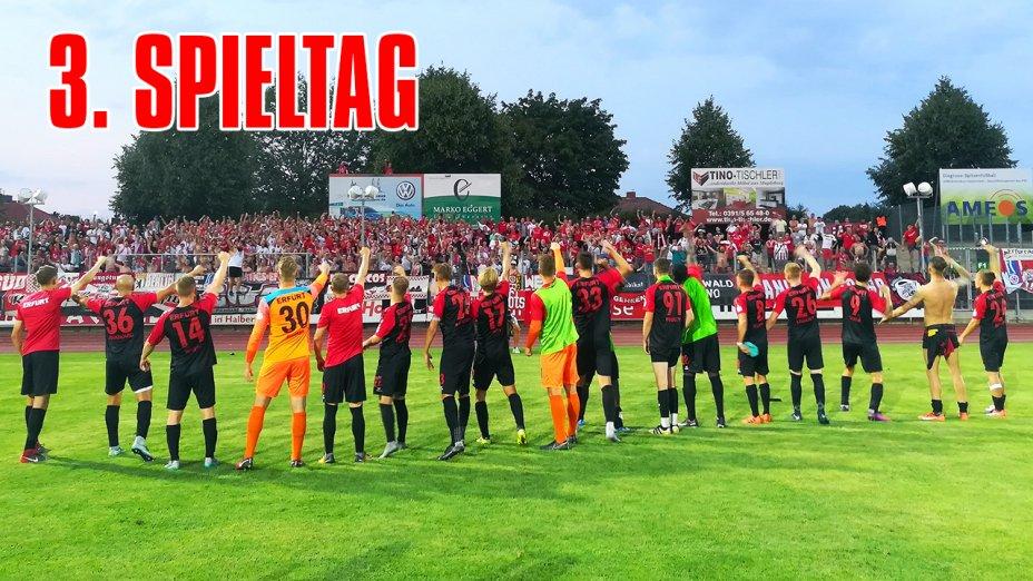 3. Spieltag - VfB Germania Halberstadt (A) inkl. PK