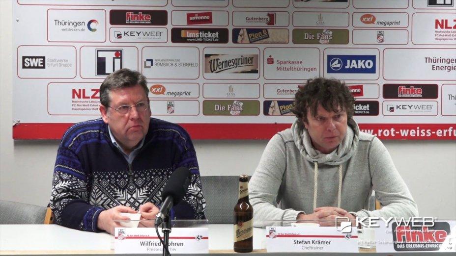 FC Rot Weiß Erfurt vs. SG Dynamo Dresden