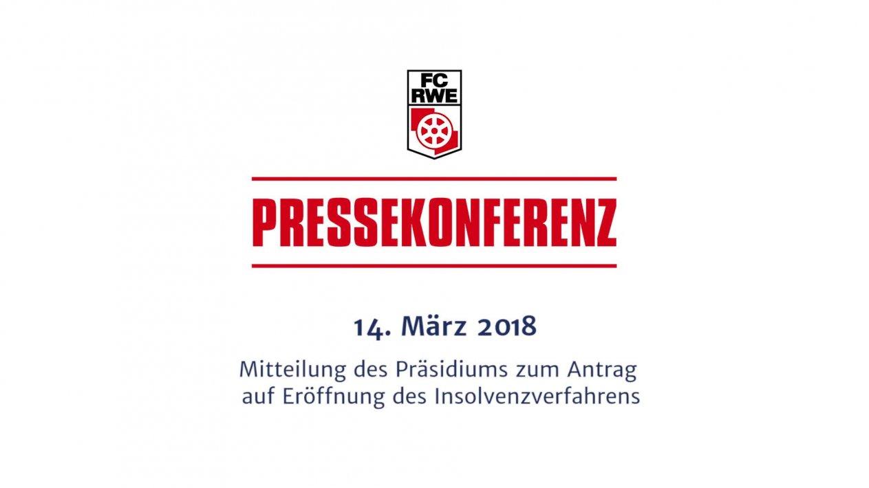 Pressekonferenz des Präsidiums