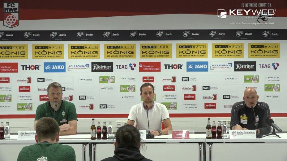 FC Rot-Weiß Erfurt vs. SV Werder Bremen II