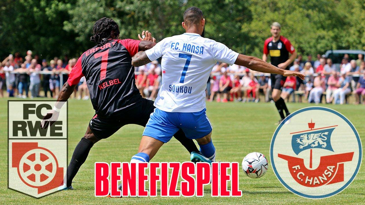 FC Rot-Weiß Erfurt - F.C. Hansa Rostock