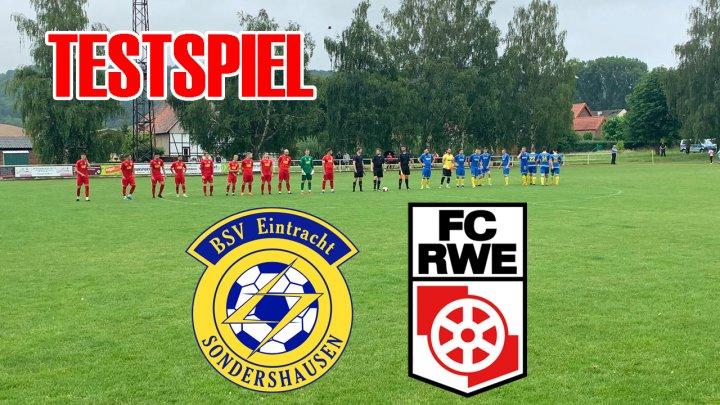 Testspiel - BSV Eintracht Sondershausen (A)