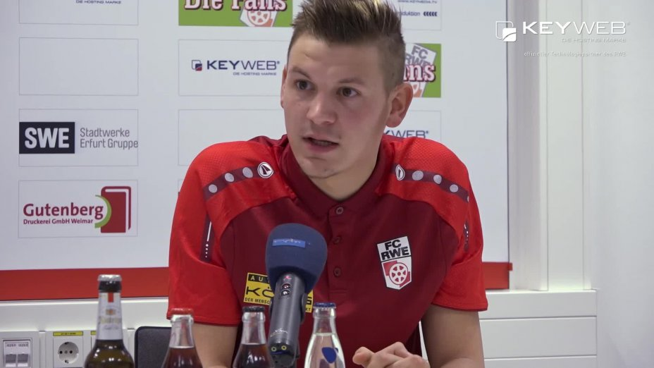 Pressekonferenz vor dem Spiel SC Paderborn 07 vs. FC Rot-Weiß Erfurt
