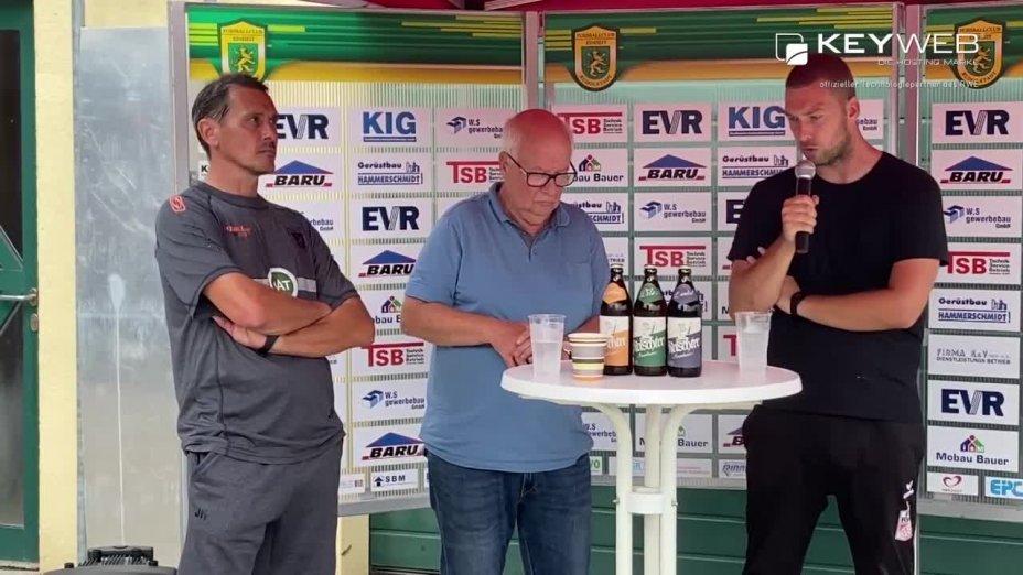 1.Spieltag - Pressekonferenz nach dem Spiel
