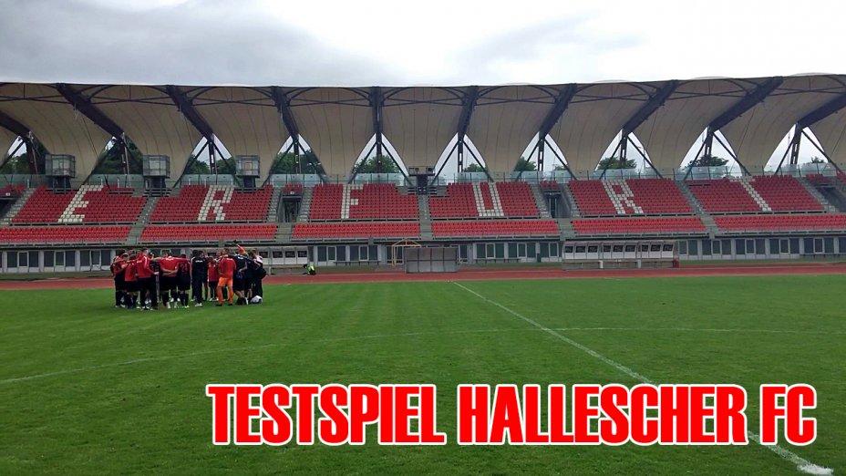 Testspiel Hallescher FC (H)