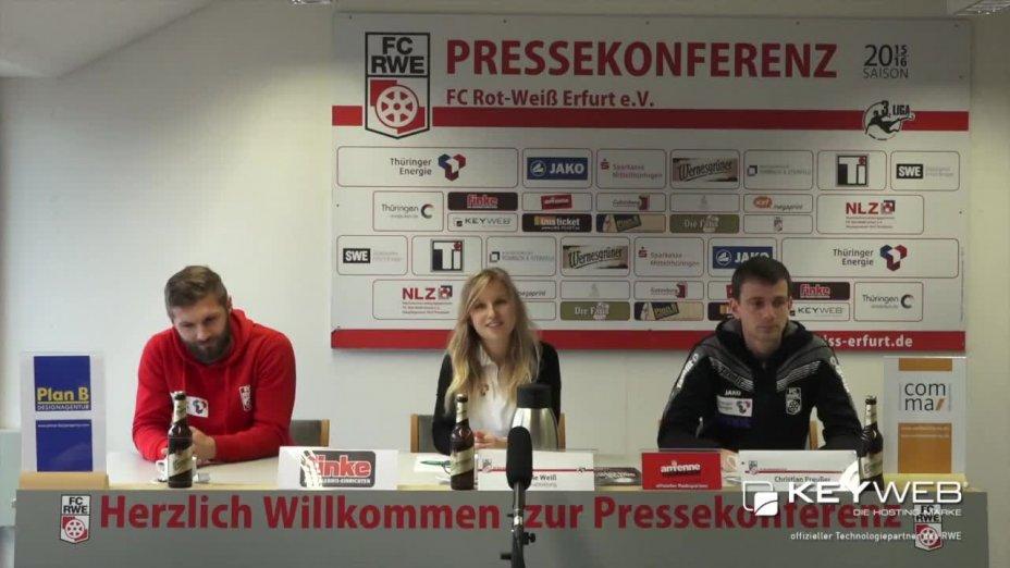 FC Rot Weiß Erfurt vs. 1. FC Magdeburg