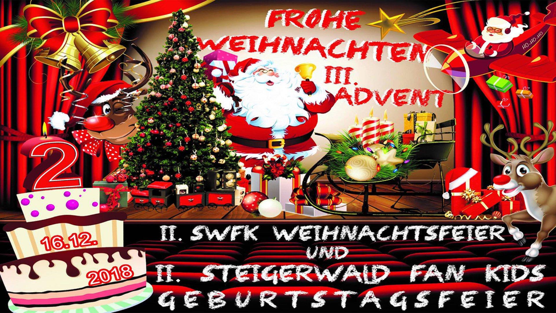 Weihnachtsfeier Erfurt.Swfk Weihnachtsfeier Abseits Kategorien Das Offizielle Tv