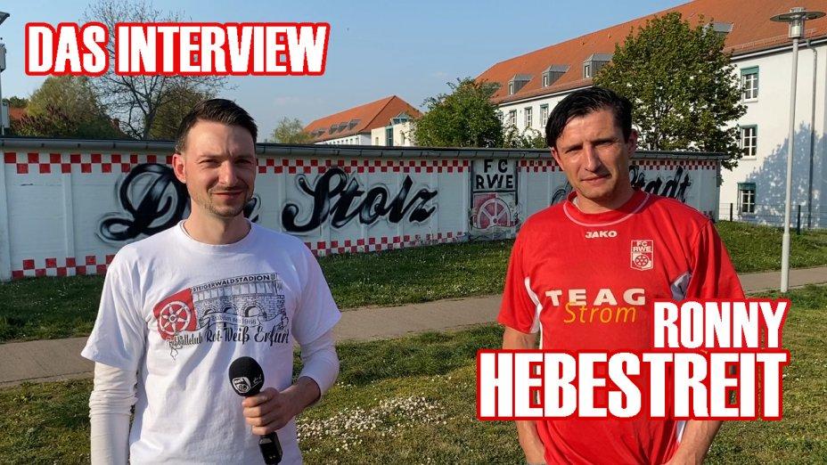 Ronny Hebestreit - Interview zum Saarbrücken-Spiel