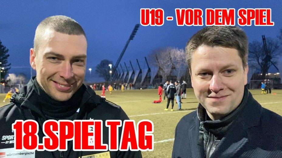 U19 - 18.Spieltag - Robin Krüger vor dem Spiel