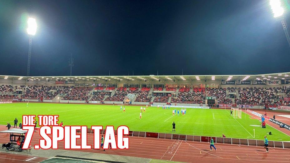 7.Spieltag - Wacker Nordhausen (H)_Tore