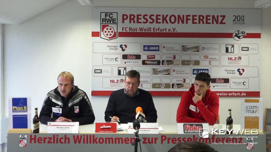 SV Wehen Wiesbaden vs. FC Rot-Weiß Erfurt