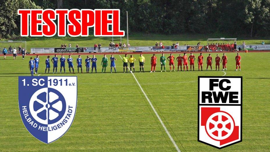 Testspiel - 1.SC 1911 Heiligenstadt