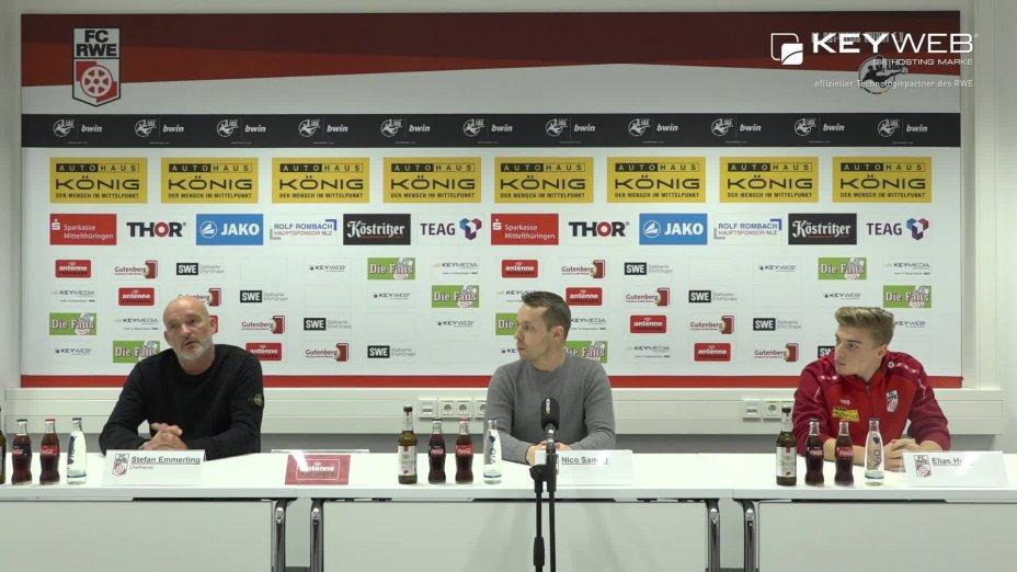 F.C. Hansa Rostock vs. FC Rot-Weiß Erfurt