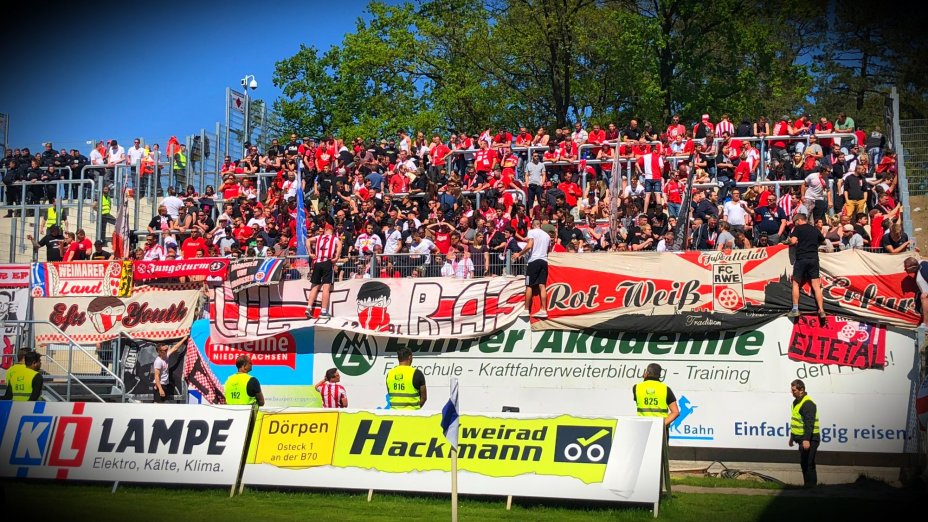 37. Spieltag - SV Meppen vs. FC Rot-Weiß Erfurt