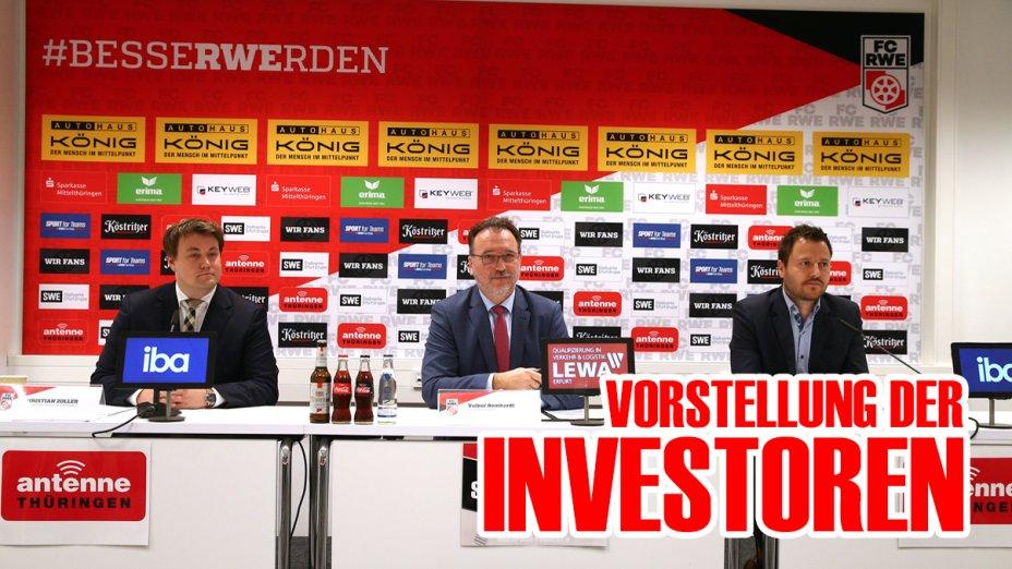 Die Vorstellung der Investoren